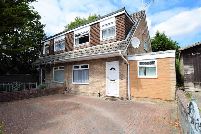 Thumbnail Semi-detached house for sale in Newgale Close, Barry