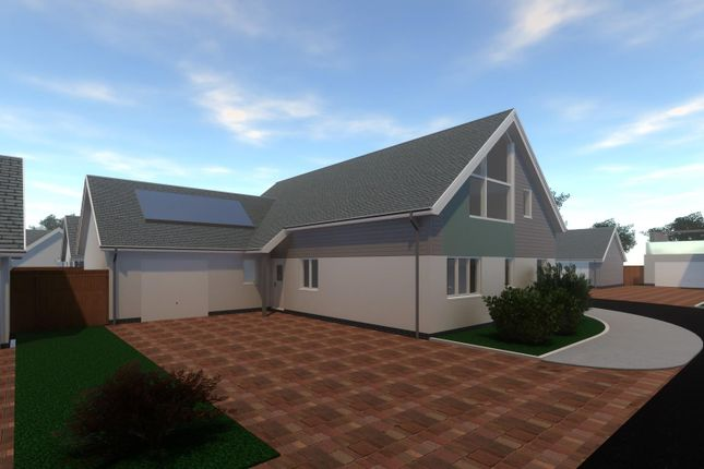 Thumbnail Detached bungalow for sale in The Lawns, Mount Sandford Green, Barnstaple
