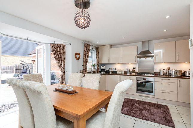 Thumbnail Detached house for sale in Avington Way, Sherfield-On-Loddon, Hook