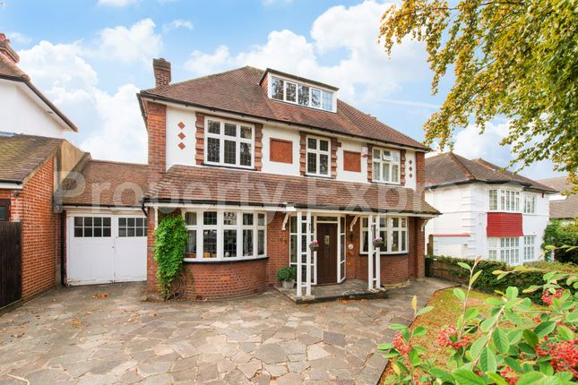 Thumbnail Detached house for sale in Uphill Road, Mill Hill