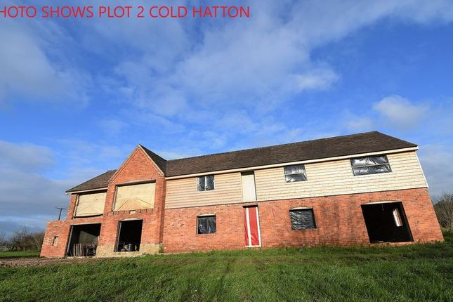 Thumbnail Detached house for sale in Plot 2 Cold Hatton, Telford, Shropshire
