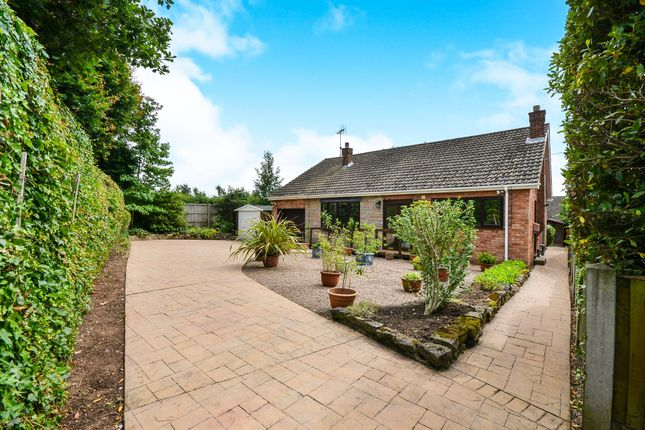 Thumbnail Detached bungalow for sale in Edale Close, Mansfield