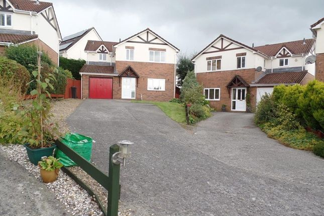 Thumbnail Detached house for sale in Waunbant Court, Clwydyfagwr, Merthyr Tydfil