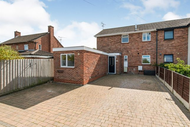 Thumbnail Semi-detached house for sale in Webb Road, Stowmarket