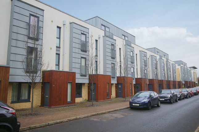 Thumbnail 4 bed town house for sale in Kimmerghame Drive, Fettes, Edinburgh