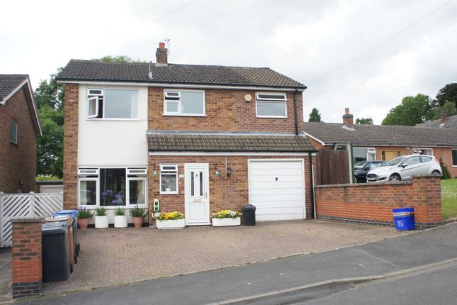 Thumbnail Detached house for sale in Croftway, Markfield