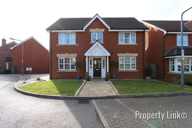 Thumbnail Detached house for sale in Hoveton Way, Ilford