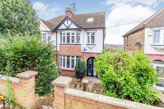 Semi-detached house for sale in City Way, Rochester, Kent