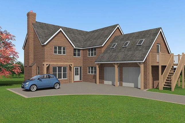 Thumbnail Detached house for sale in Plot 1, Shaw Park, Weston Lane, Oswestry, Shropshire