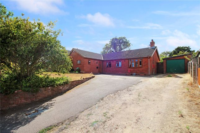 Thumbnail Detached bungalow for sale in Low Bungay Road, Loddon, Norwich, Norfolk