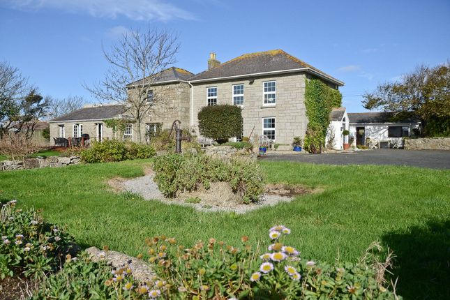 Thumbnail Detached house for sale in Sennen, Cornwall