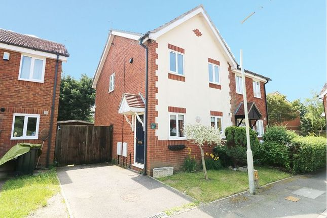 Thumbnail Semi-detached house to rent in Park Wood Close, Ashford