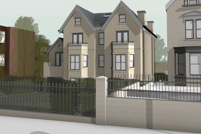 Thumbnail Land for sale in Park Crescent, Roundhay, Leeds