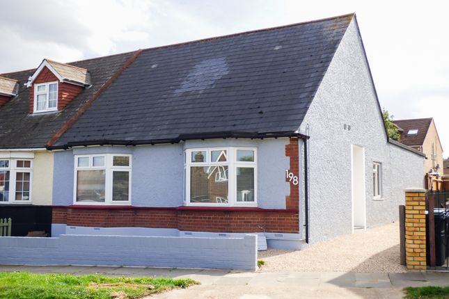 Thumbnail Semi-detached bungalow for sale in Lower Higham Road, Chalk, Gravesend