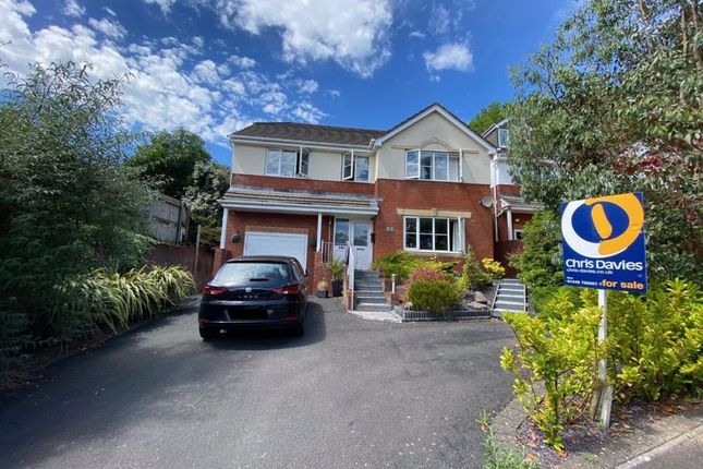 Thumbnail Detached house for sale in Afal Sur, Barry