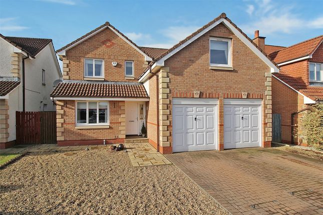 Thumbnail Detached house for sale in Burns Avenue, The Inches, Larbert