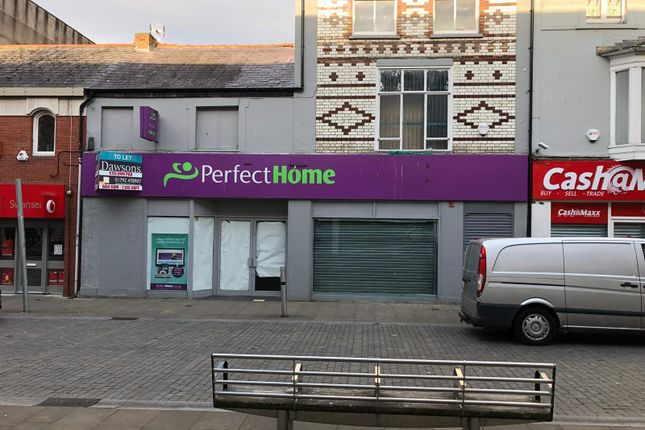 Retail premises to let in Union Street, Swansea
