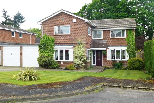 Thumbnail Detached house for sale in Churchill Close, Hartley Wintney, Hook