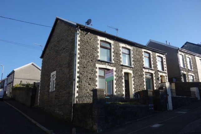 Thumbnail End terrace house for sale in Amos Hill, Penygraig