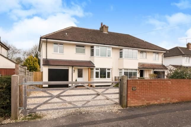 Thumbnail Semi-detached house for sale in Basingstoke, Hampshire, .