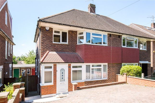 Thumbnail Semi-detached house for sale in Abbotshall Avenue, Southgate, London