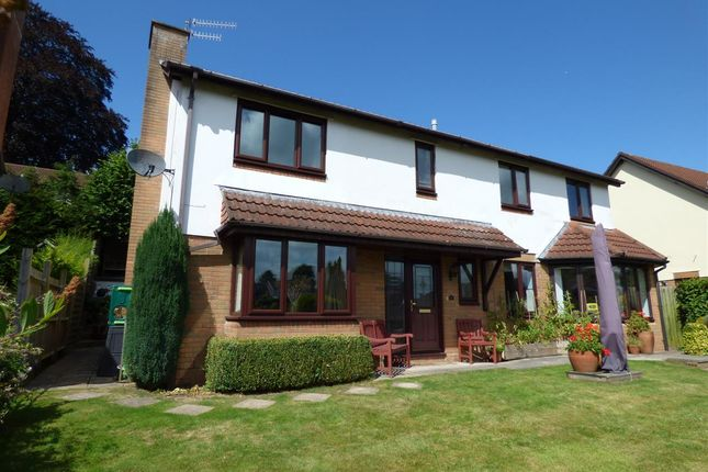 Thumbnail Detached house to rent in Mount Way, Chepstow