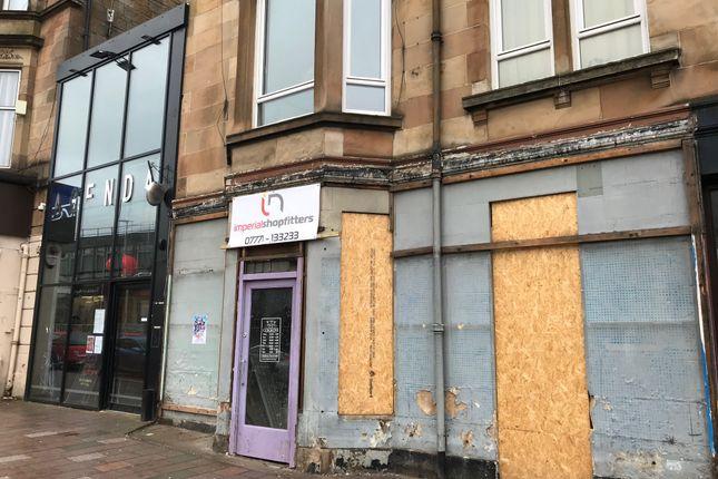 Thumbnail Restaurant/cafe to let in Kilmarnock Road, Glasgow