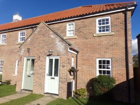 Thumbnail End terrace house for sale in Illman House, Howard Court, Richmond, North Yorkshire