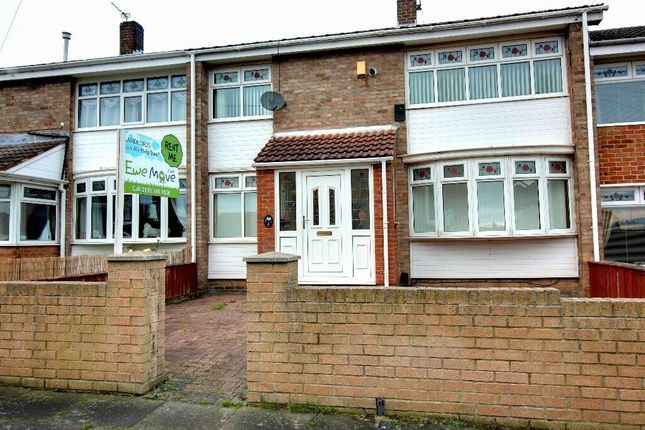 Thumbnail Semi-detached house to rent in Carroll Walk, Hartlepool