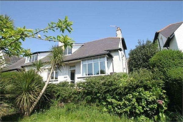Thumbnail Semi-detached house for sale in Ffriddoedd Road, Bangor, Gwynedd