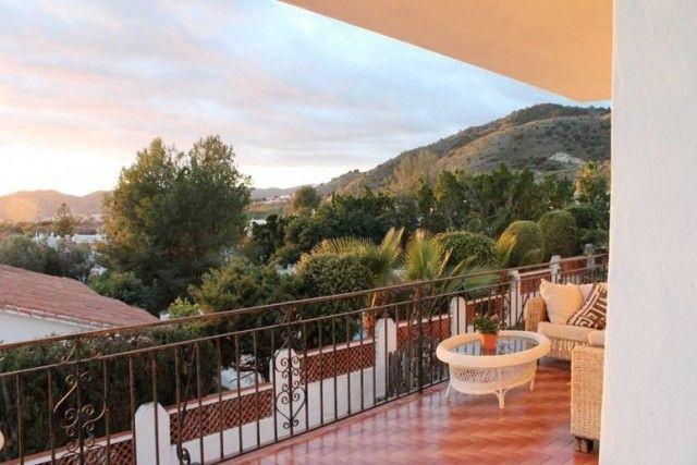 Terraceview of Spain, Málaga, Nerja, Maro