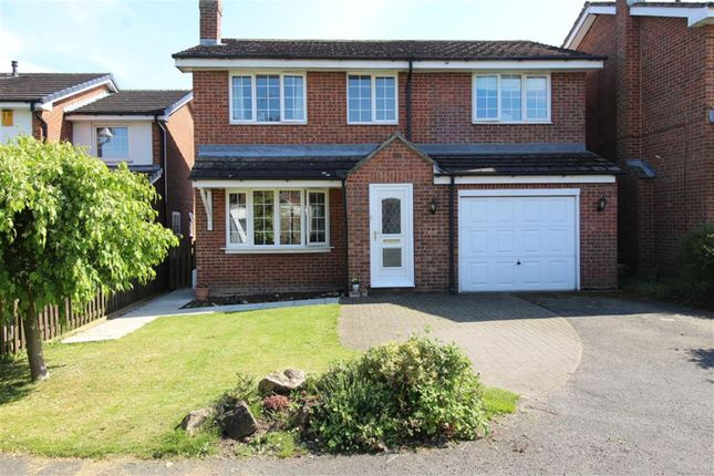 Thumbnail Detached house for sale in Manor Close, Topcliffe, Thirsk
