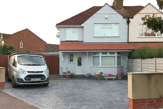 Thumbnail Semi-detached house for sale in Central Avenue, Waltham Cross