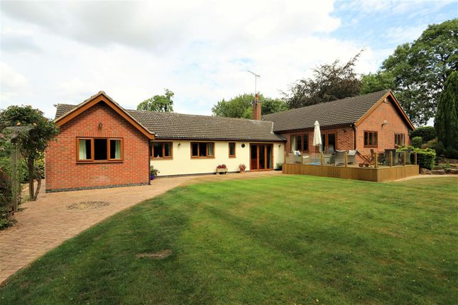Thumbnail Detached bungalow for sale in Lower Brand, Griffydam, Coalville