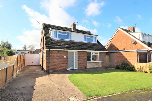 Thumbnail 3 bed detached house for sale in St Lukes Close, Cherry Willingham, Lincoln