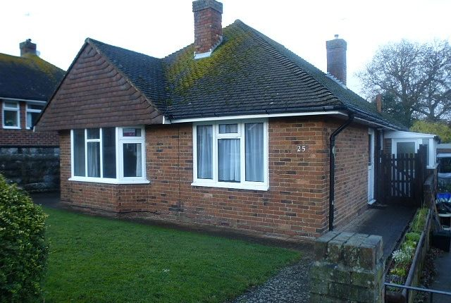 Thumbnail Detached bungalow for sale in Deans Drive, Bexhill On Sea