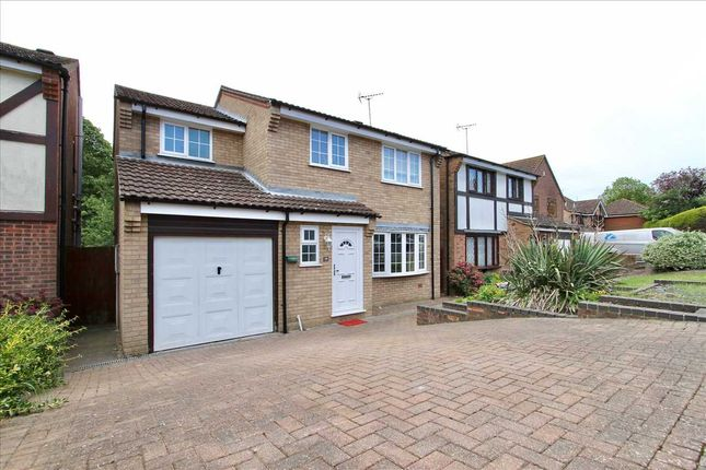 Thumbnail 4 bed detached house for sale in Andros Close, Ipswich