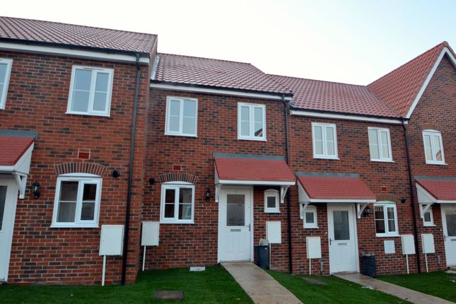 Thumbnail Terraced house for sale in Carsons Drive, Great Cornard, Sudbury