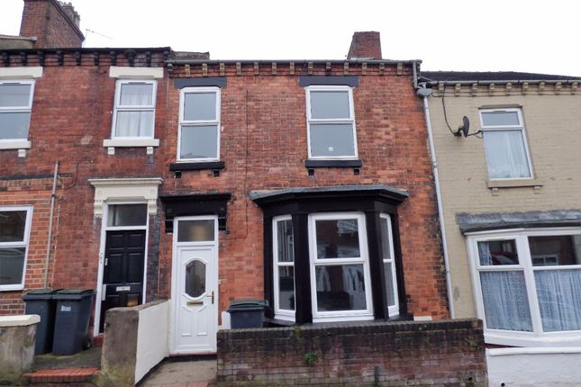 Thumbnail Terraced house to rent in Room 3, Sheppard Street, Stoke-On-Trent, Staffordshire