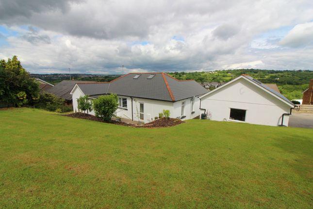 Thumbnail Detached bungalow for sale in Tonypistyll Road, Pentwynmawr, Newbridge