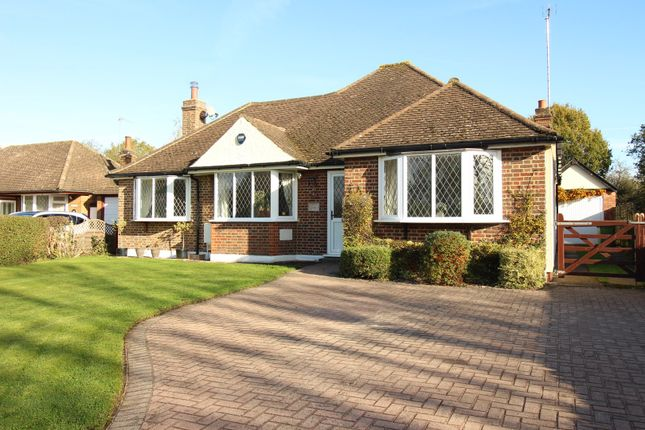Thumbnail Detached bungalow for sale in Ashtead Woods Road, Ashtead