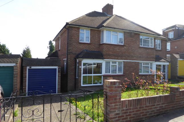 Thumbnail Semi-detached house for sale in Rawlins Close, South Croydon, Surrey