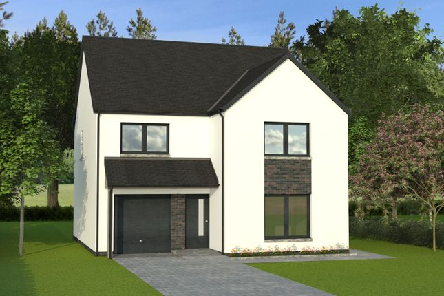 Thumbnail Detached house for sale in The Marketing Suite, Hillside, Montrose
