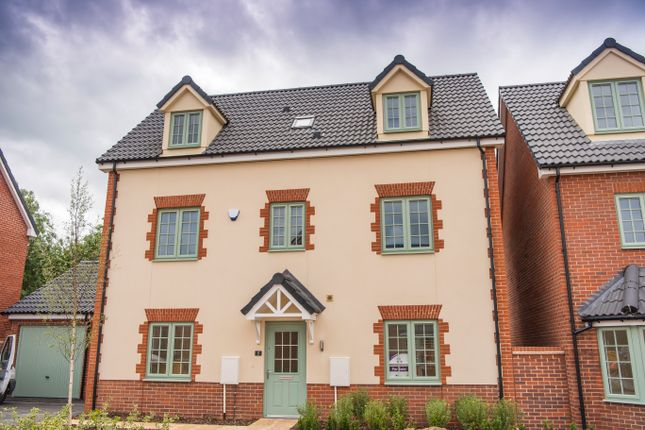 Thumbnail Detached house for sale in Lower End Road, Milton Keynes