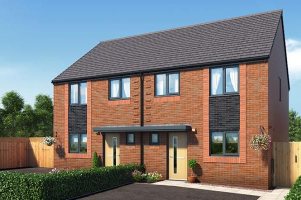 "Thumbnail Property for sale in ""The Kellington At Riverbank View"" at Concord Place, Salford"