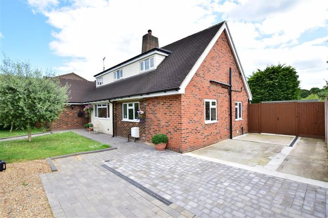 Thumbnail Bungalow for sale in Chelmsford Road, Shenfield, Brentwood, Essex