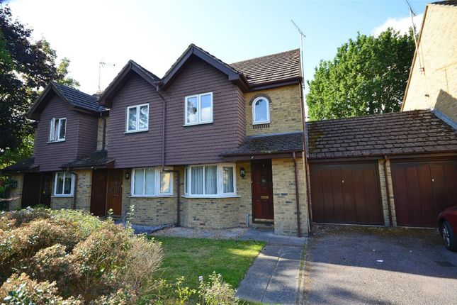 Thumbnail Semi-detached house for sale in Minehurst Road, Mytchett, Camberley, Surrey