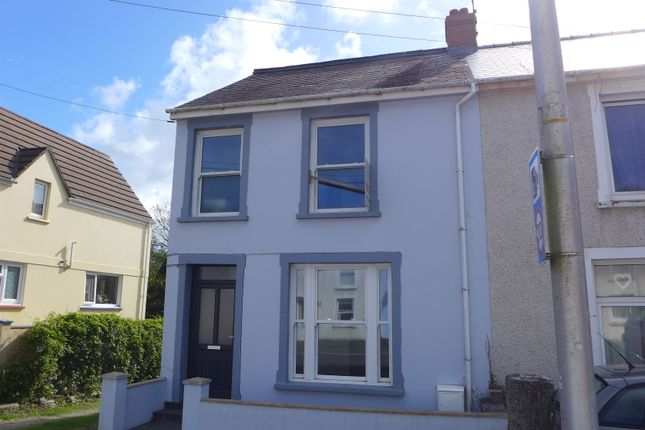 Thumbnail End terrace house for sale in Goodwick Industrial Estate, Main Street, Goodwick