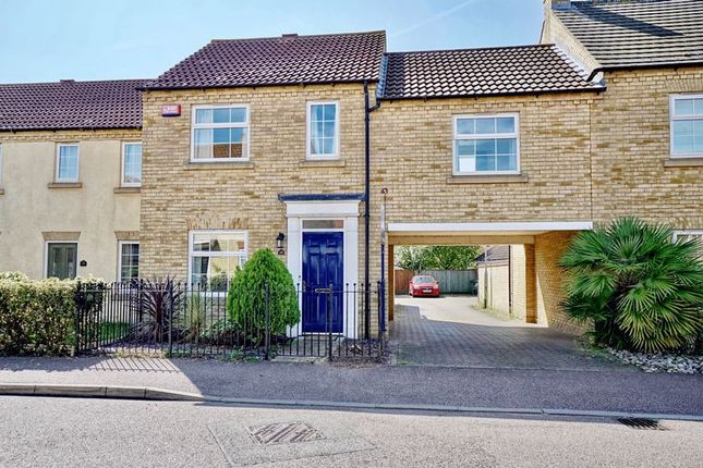 Thumbnail Link-detached house for sale in Bevington Way, Eynesbury, St. Neots