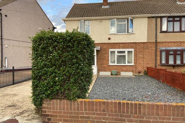 Thumbnail Semi-detached house to rent in Padnall Road, Chadwell Heath, Romford